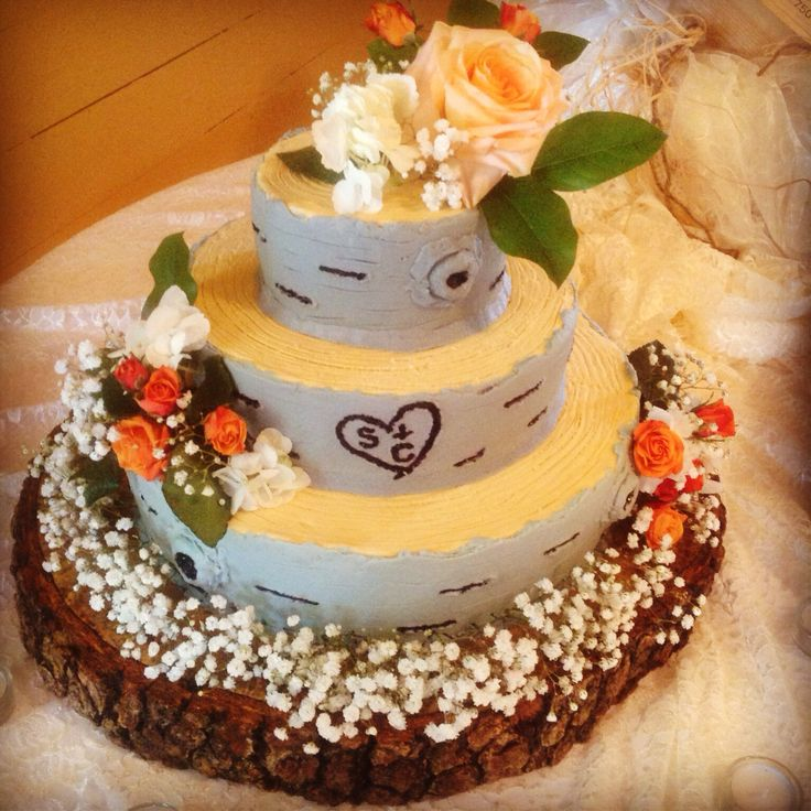 Rustic Wedding Cakes On Pinterest