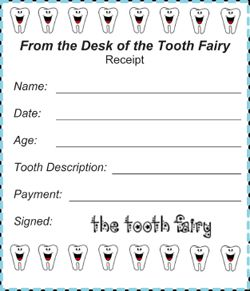 Payment Receipt Letter 10 Best Tooth Fairy Images On Pinterest  The Teeth Tooth Fairy .