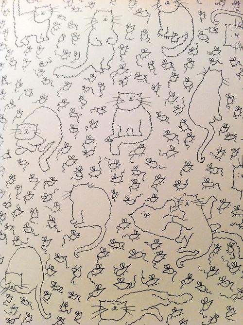 the catwalk cats   Grace Coddington