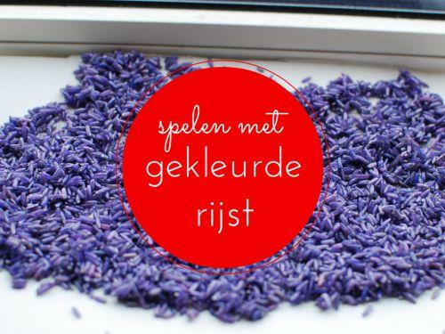 Spelend+leren+met+gekleurde+rijst