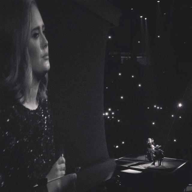 Speechless. Every second was breathtaking. @adele you are awesome!💕 Go girl!! #adele #adelelive2016 #afewjewels #music #concert #barcelona #adelebarcelona2016 #blackandwhite #liveconcert #tuesday #amazing #emotion #voice #beautiful #funny #laugh #unforgettable #forever #goodnight #buenasnoches #barcelonainspira #barcelonacity