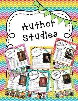 Amazing Author Studies - MsJordanReads