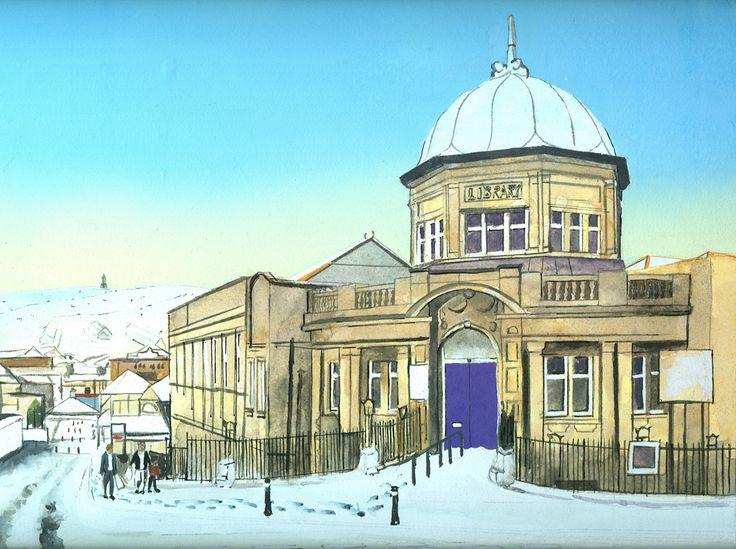 Billy Almond, Darwen Public Library