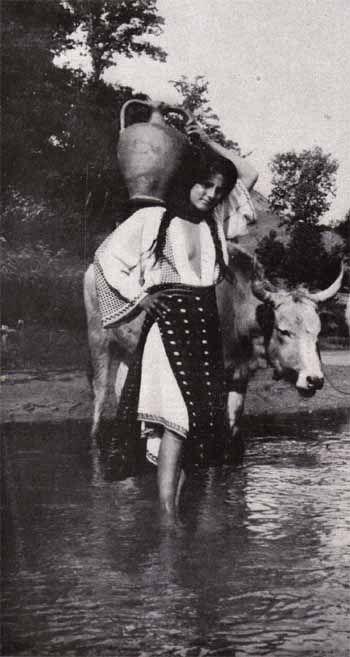 Taranca la malul Prahovei, 1922