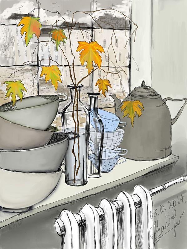 Autumn by Natlie Salbieva on Behance