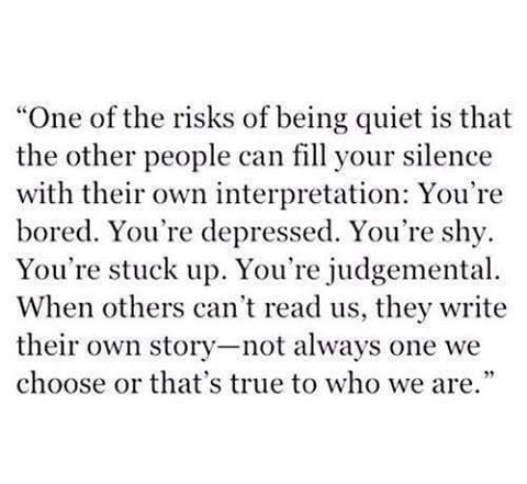 I've dealt with this my whole life. And know what I say to that? Who gives a shit? Write any story you want. I'll go on being me and you can go on thinking anything you want. Damn right.