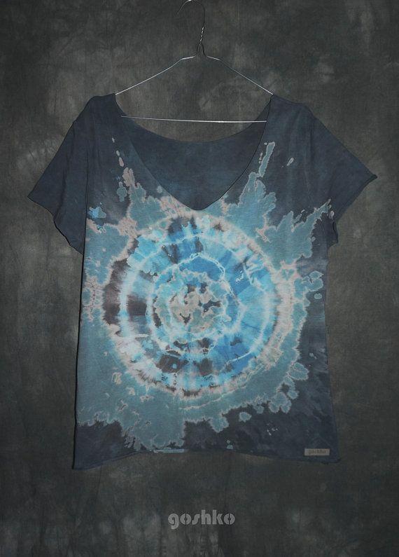 hand dyed t-shirt by goshko