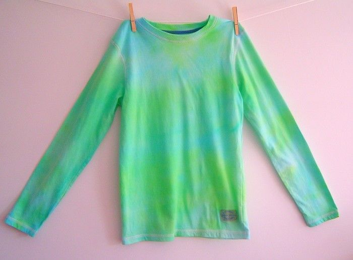 Boys Tie Dye Long Sleeve T-Shirt Size 10