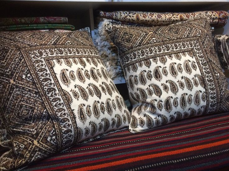 """Decorative Cushion Cover ,throw pillow, brown pillow , 19"""" traditional pillow case"""
