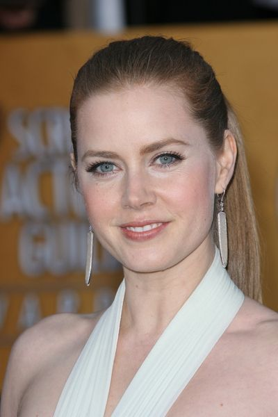 Amy Adams sleek, sexy ponytail