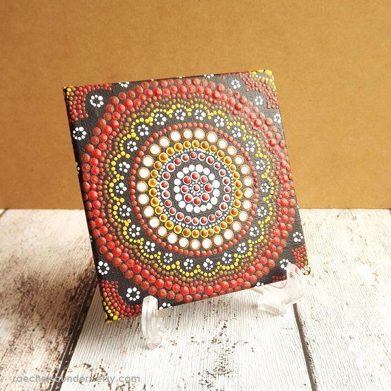 Authentische Kunst der Aborigines Dot Acryl von RaechelSaunders