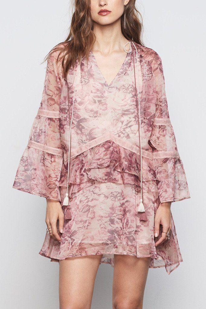 Breathless Mini Dress | Ellis and Friends Size 8