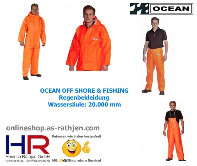 #Ölzeug Marke Ocean Rainwear ob beim Hochseeangeln in Norwegen oder am Baggersee immer die perfekte #Regenbekleidung