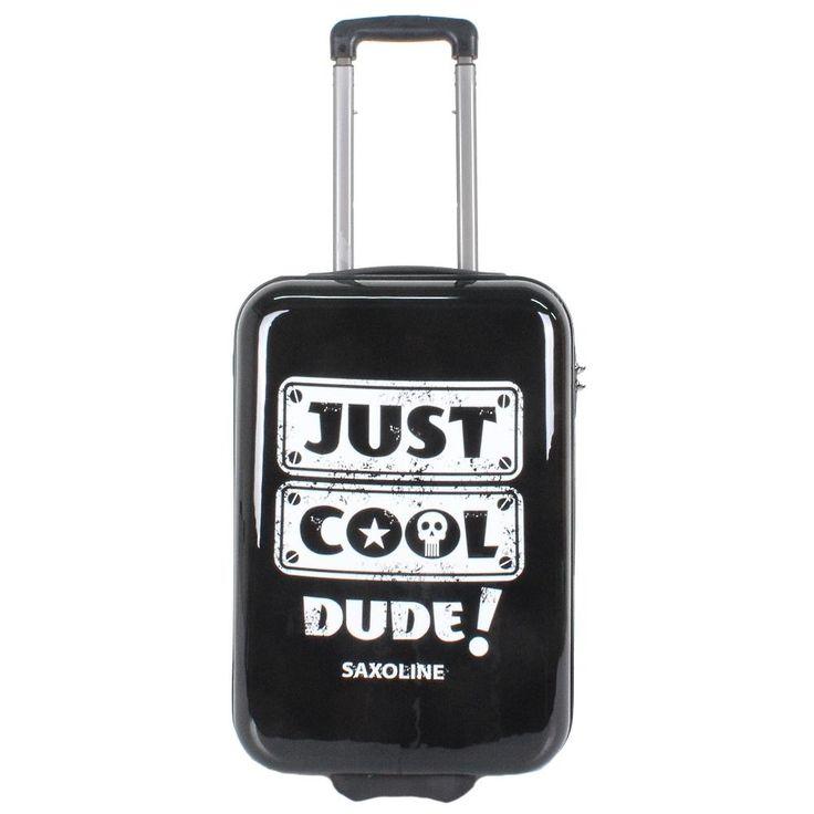 Saxoline suitcase 2-wheel 55 cm Just Cool