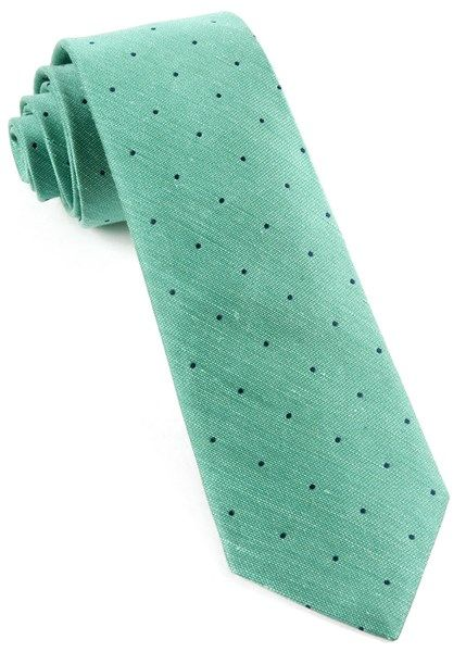 Bulletin Dot Ties - Mint | Ties, Bow Ties, and Pocket Squares | The Tie Bar