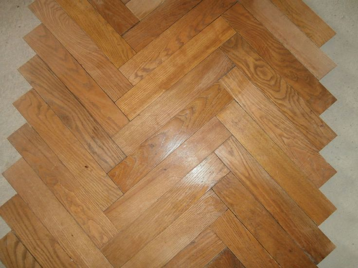 Really old french heringbone parquet flooring - 130sqm available