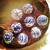 17мм 50шт Vintage Китай Керамические шарики ф... – RUB p. 1 195,70