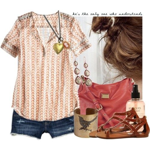 A picture perfect summer outfit!