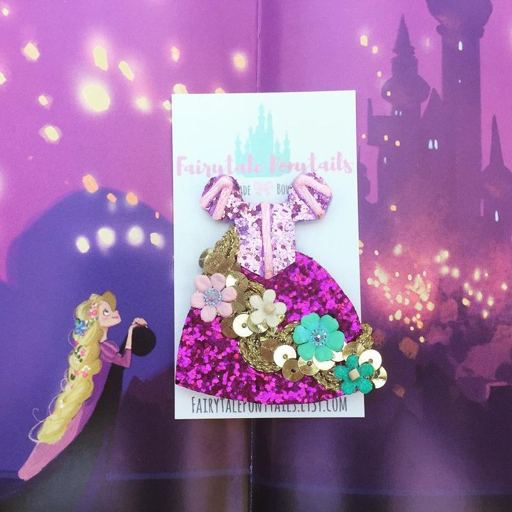Rapunzel Rapunzel let down your golden hair!!! New Release in the Princess Dress 👗 Collection! Hair Clip or Brooch! Available TOMORROW! 6 PM EST Handmade with MAGIC!