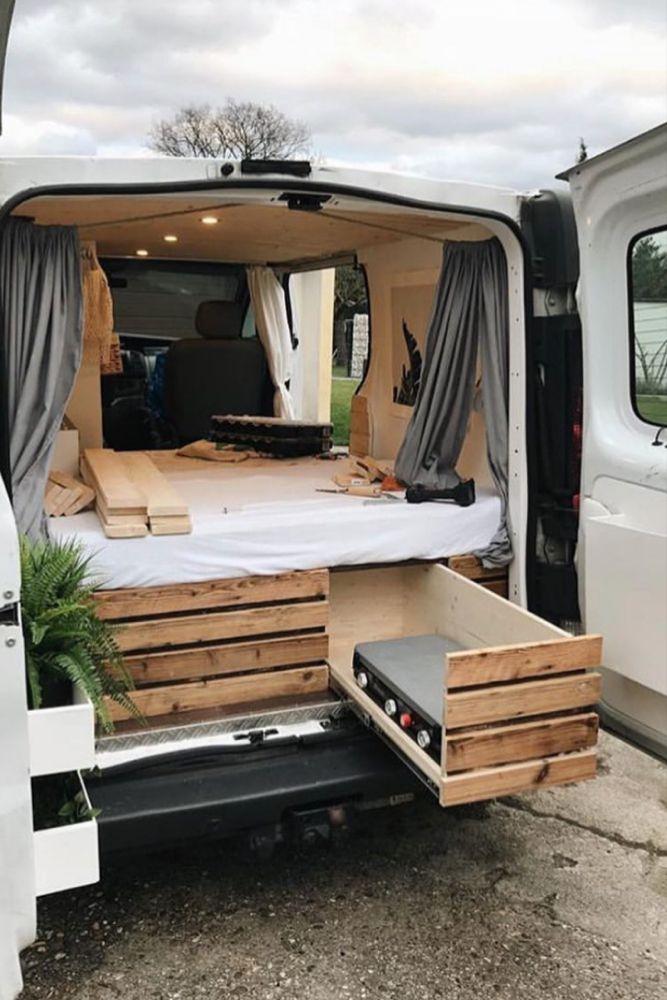50 Amazing Camper Van Interior Ideas Trailer Tiny House Van