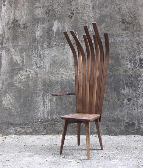 atypická stolička Inception