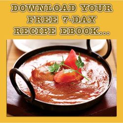 Free 7 Day Healthy Recipe Ebook