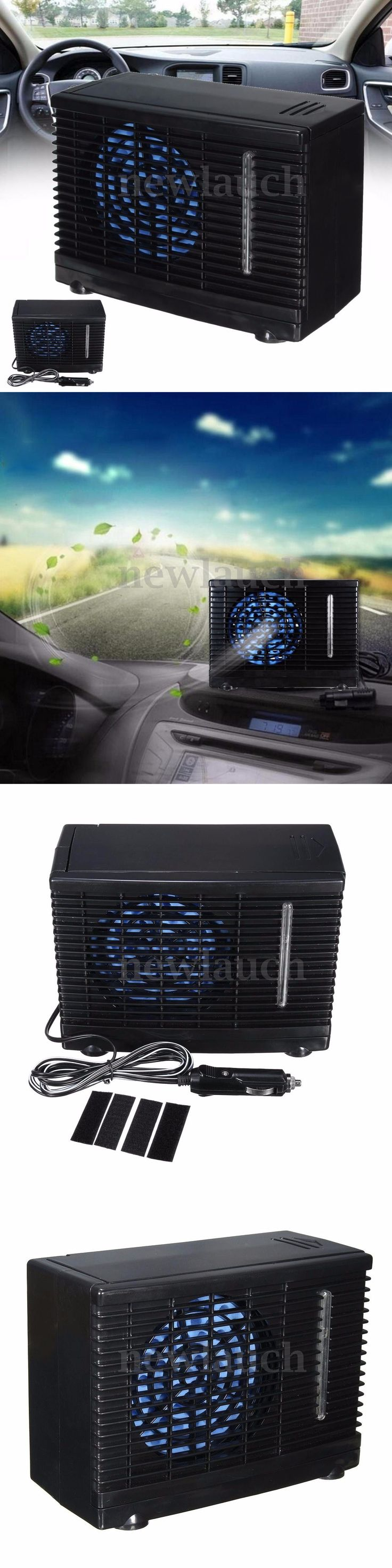 12-Volt Portable Appliances: 12V Portable Home Car Cooler Cooling Fan Water Ice Evaporative Air Conditioner BUY IT NOW ONLY: $49.99