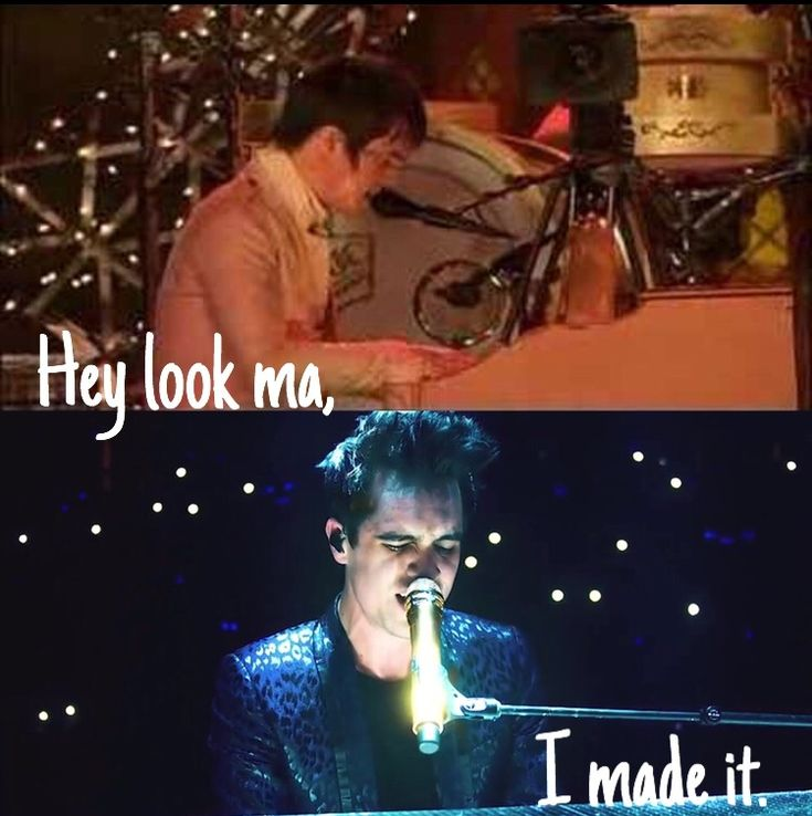 Panic At The Disco Hey Look Ma I Made It: 113 Best Panic! At The Disco And Music Images On Pinterest