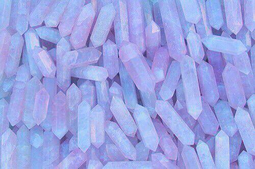 Purple crystals. Background