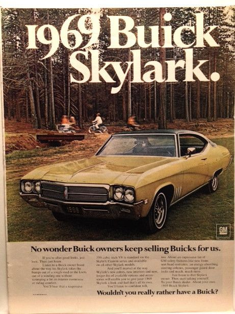 69 Buick Skylark Page LIFE November 8 1968