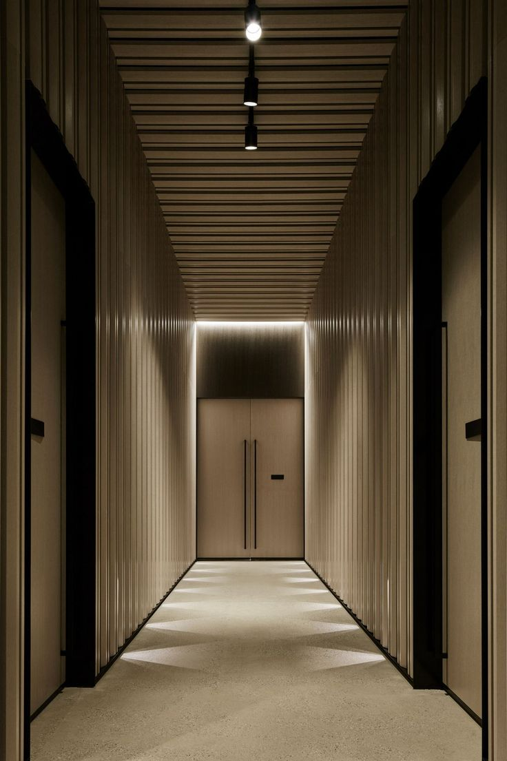 Hotel hallway lighting   best 走廊 images on Pinterest  Apartment design Chinese food