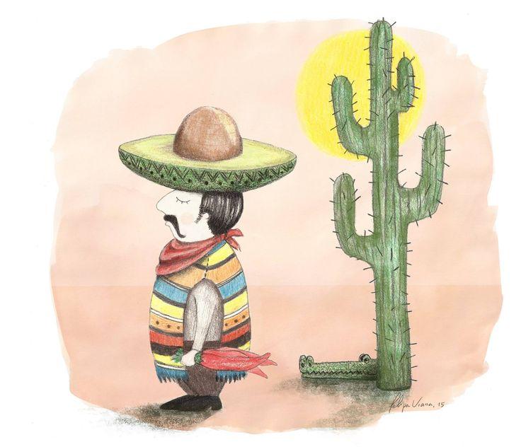 Abacate, México by Filipa Viana
