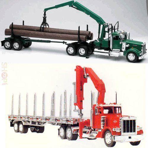 Toy Semi Tractor : Best images about semi trucks on pinterest peterbilt