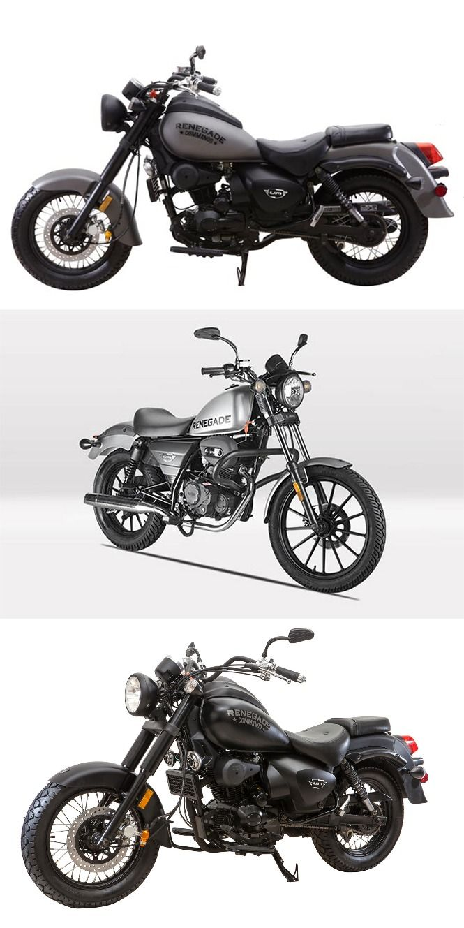 UM #Motorcycles to Reveal Two Variants of #Renegade #Commando in Jan, 2016