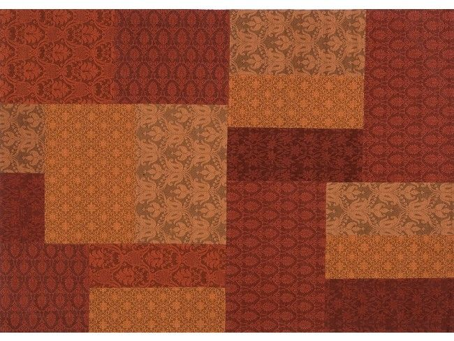 Damasque patchwork - tappeto in lana