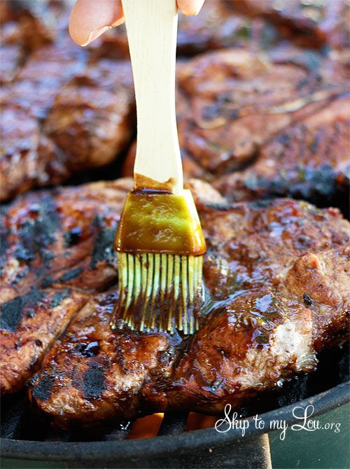 Recipe For The Best Balsamic BBQ Sauce - This is a great sauce for chicken, steak, Ribs and our favorite pork steaks!