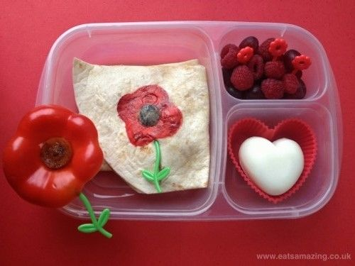 Eats Amazing - Poppy themed lunch for Remembrance Day