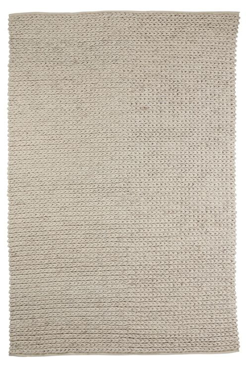 Flätad matta i 100% ull. <br><br>80% ull, 20% bomull<br>Rengörs genom dammsugning/skumtvätt