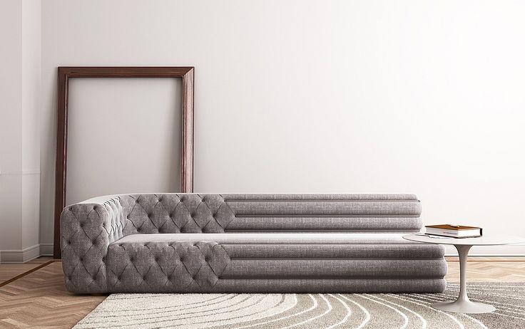 7 Extremely Elegant Sofas | Companies | Interior Design | Seminato Mercadente