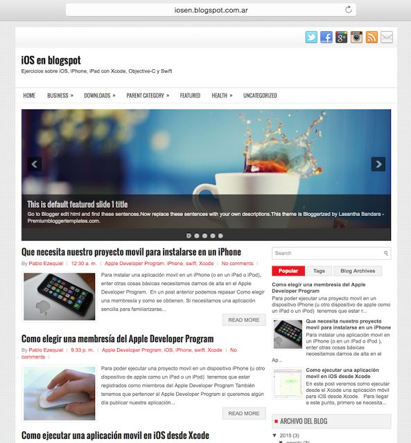 Probar No Cuesta Nada . com: Tips#005: Cómo subir e instalar una plantilla de Blogger