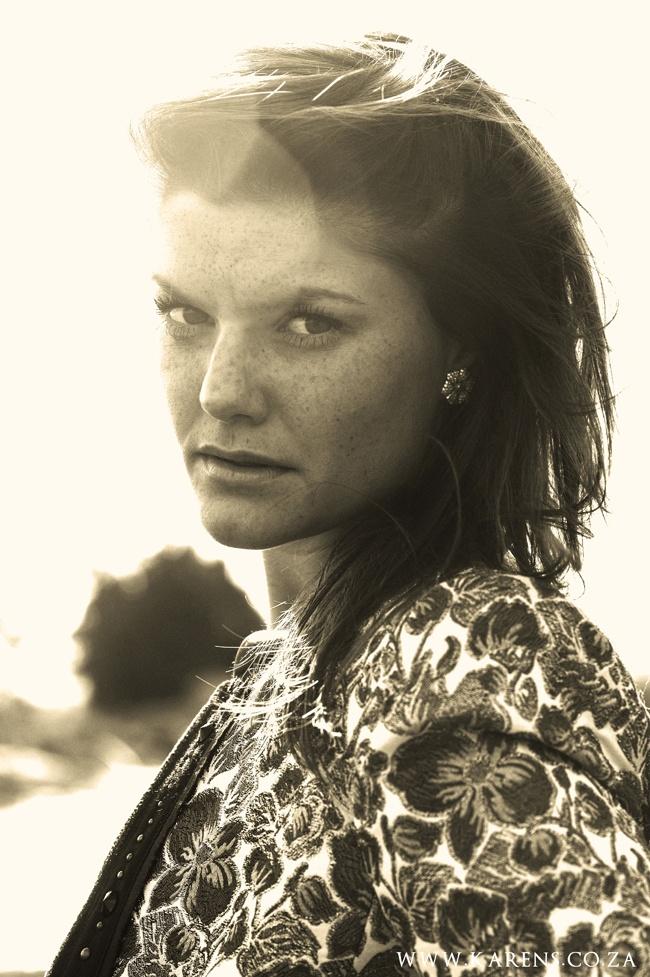Beautiful Sepia Shot- Portrait Shot