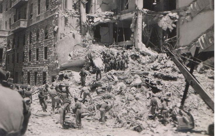 King David Hotel Bombing 22 July 1946