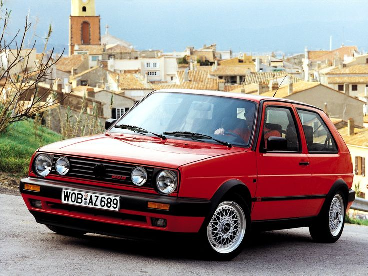 Volkswagen Golf Mk2 GTI G60. Kinda want one to play with
