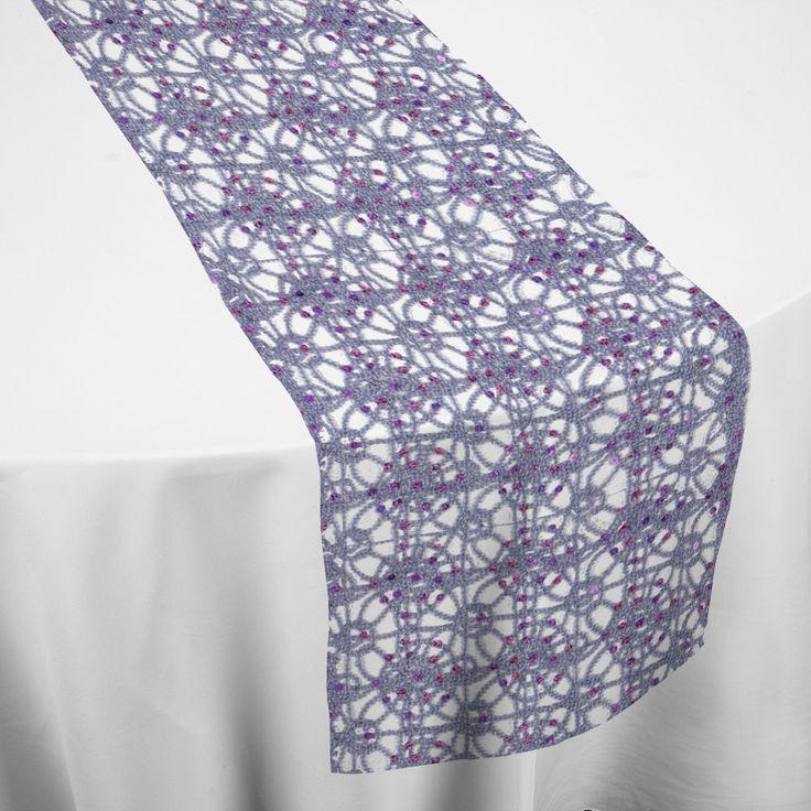 Lavender Diamonds Runner Table Runner By Chair Covers U0026 Linens
