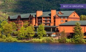 Groupon - Stay at Rocky Gap Casino Resort in Cumberland, MD, with Dates into April in Flintstone, MD. Groupon deal price: $59