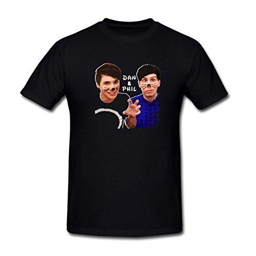 MoonArt Men's Dan Howell And Phil Lester Pattern T-Shirt XXL Black MoonArt-T-Shirt http://www.amazon.com/dp/B00YP9OLNY/ref=cm_sw_r_pi_dp_20gVvb0H9NMZ8