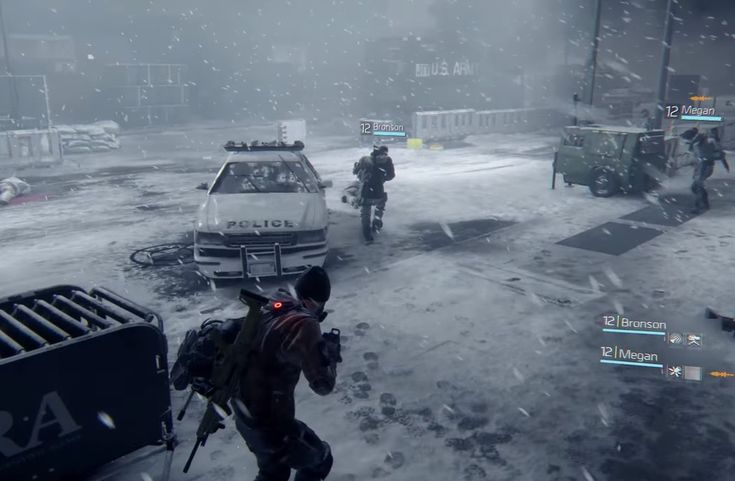 Tom Clancy's The Division Multiplayer Reveal