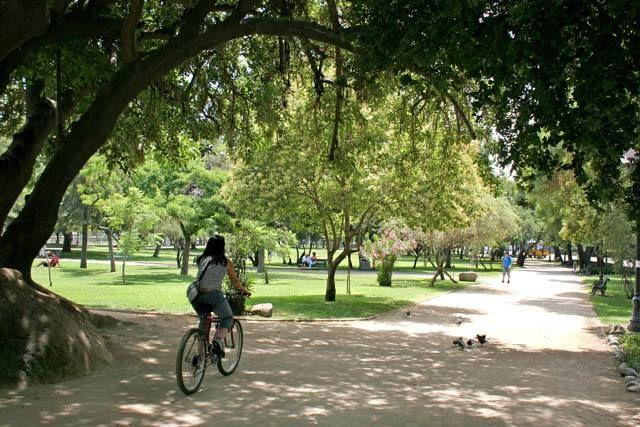 Providencia tiene hermosas áreas verdes en pleno centro de la ciudad