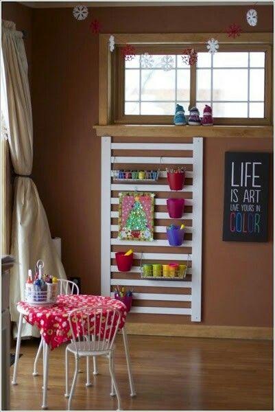 top 30 fabulous ideas to repurpose old cribs vieux berceaux bricolage et id es. Black Bedroom Furniture Sets. Home Design Ideas