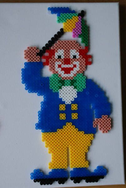 Clown  Bügelperlen perler beads